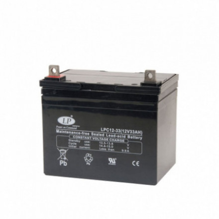 VRLA Akumuliatorius 33 Ah 12V LPC12-33 T5