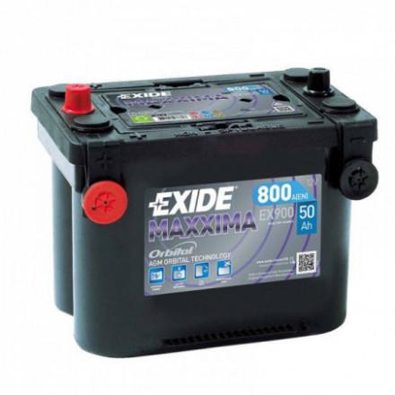 EXIDE Akumuliatorius 50 Ah 800 A EN 12V AGM EX900