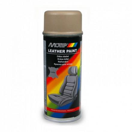 """MOTIP Odos dažai smėlio spalvos-rudi """"Leather Spray Beige/Brown"""" 200ml 04233BS"""
