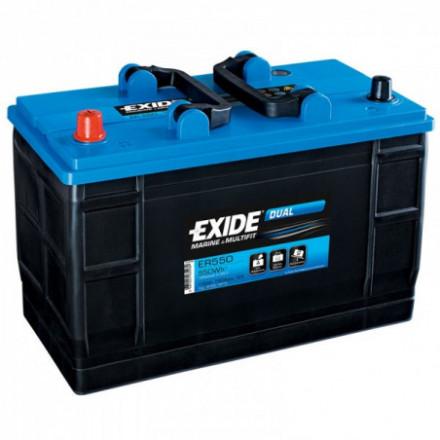 EXIDE Akumuliatorius 115 Ah 760 A EN 12V ER550