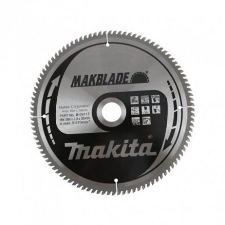 Medžio pjovimo diskas MAKITA Z100 260*30 mm