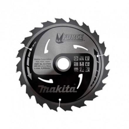 Medžio pjovimo diskas MAKITA 210x30x2,3 mm 24T