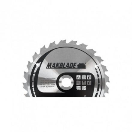 Pjovimo diskas 250x30x2,3mm 60T 5° MAKITA