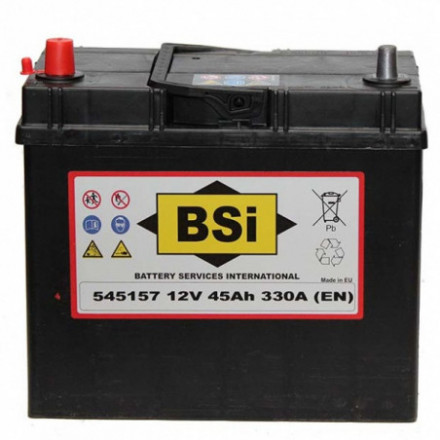 BSI Akumuliatorius 45 Ah 330 A EN 12V 545157