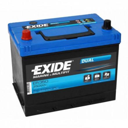 EXIDE Akumuliatorius 80 Ah 510 A EN 12V ER350