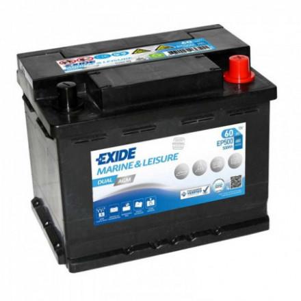 EXIDE Akumuliatorius 60 Ah 680 A EN 12V EP500