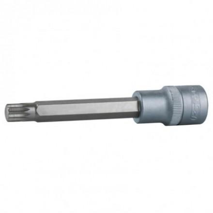 "Antgalis galvutė 1/2"" ilga  XZN  M10 KS tools"