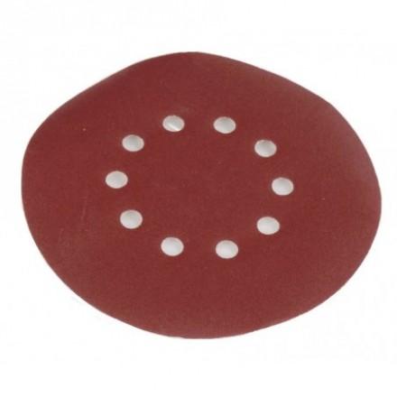 Round sanding paper 215mm grit 80 - 10pcs. DS 920 / 930 Scheppach