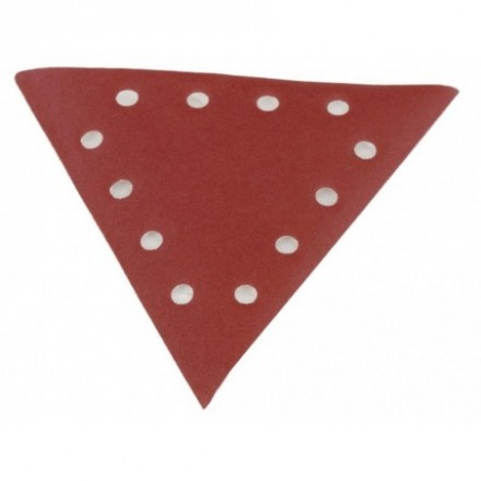 Triangle sanding paper grit 80 - 10pcs. DS 930 Scheppach