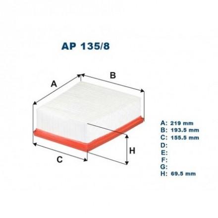 FILTRON Oro filtras AP135/8