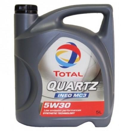 TOTAL Alyva Quartz Ineo MC3/MDC 5W/30 Sintetinė Varikliams 5 l QUARTZ MC3/MDC 5w30 5L