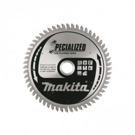 Pjovimo diskas aliuminiui MAKITA 165x20x2,2mm 56T