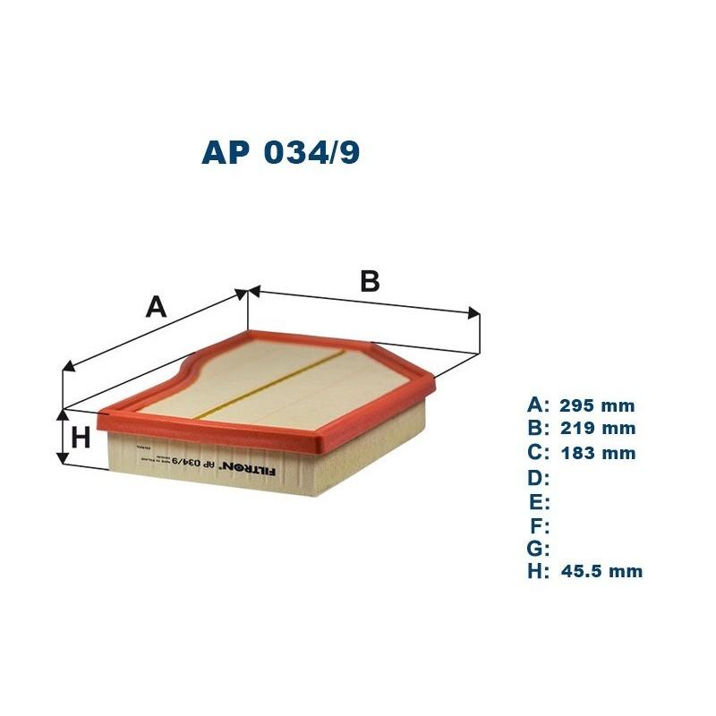 FILTRON Oro filtras AP034/9