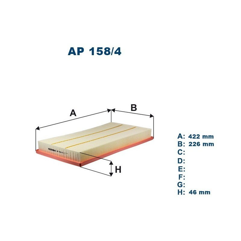 FILTRON Oro filtras AP158/4