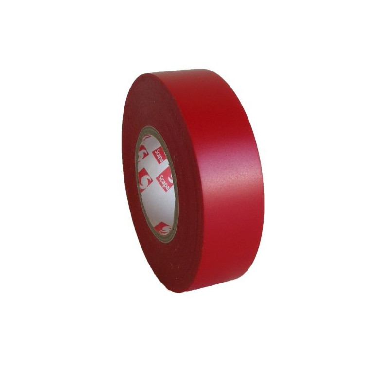 PVC izoliacinė juosta Scapa 2702 15mm x 10m raudona