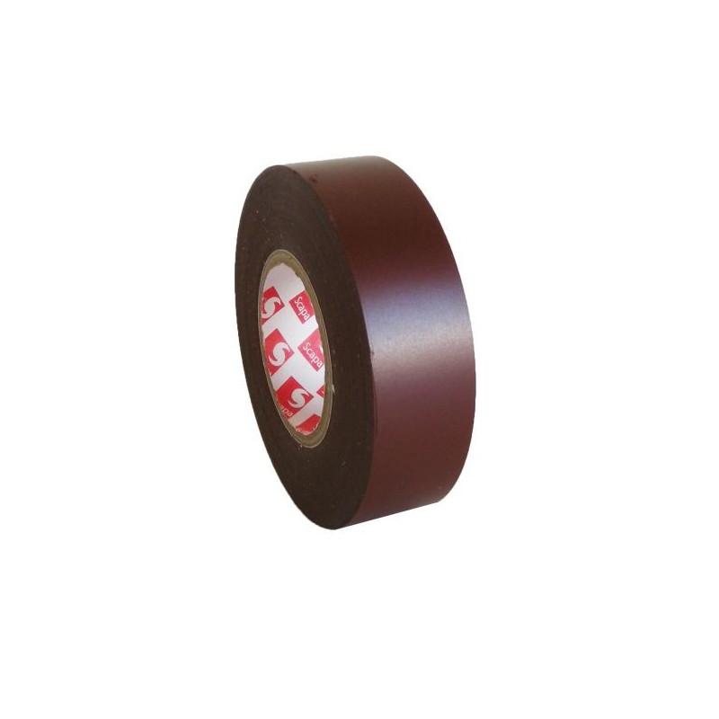PVC. izoliacinė juosta Scapa 2702 15mm x 10m ruda