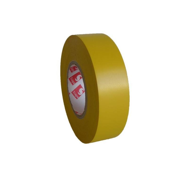 PVC. izoliacinė juosta Scapa 2702 15mm x 10m geltona