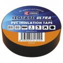 PVC. izoliacinė juosta IZOTAPE ULTRA 15mm x 10m juoda