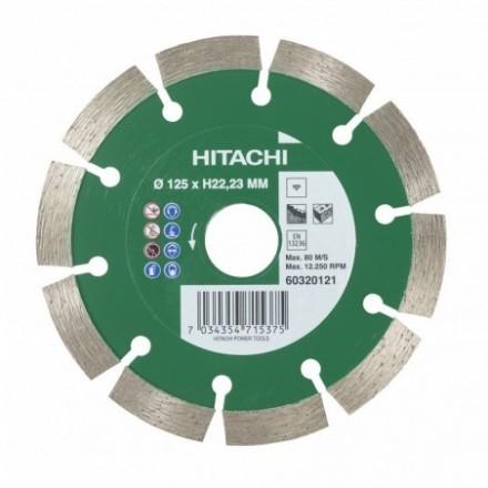 Deimantinis diskas HiKOKI Standart Ø125x22,23mm