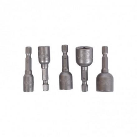 5 dalių magnetinių sukimo galvučių rinkinys MAKITA B-39154