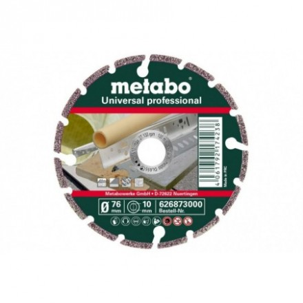 Diamond cutting disc 76 x 10 mm professional UP Metabo