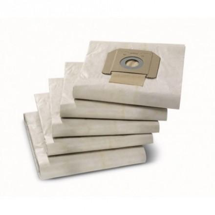 Popieriniai filtrų maišeliai NT 65/2 NT 48/1 5vnt. Karcher
