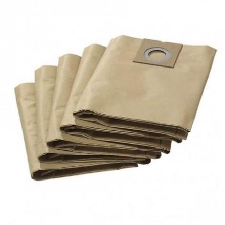 Popieriniai filtrų maišeliai  NT 27/1 5vnt. Karcher