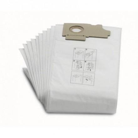 Flisiniai filtrai maišeliai CV36/2 10vnt. Karcher
