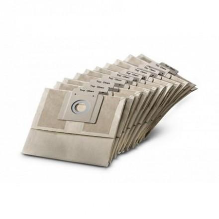 Popieriniai filtrų maišeliai T12/1 10vnt. Karcher