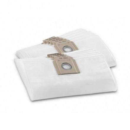 Flisiniai filtrai maišeliai T10/1 T12/1 10vnt. Karcher